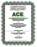 Lightning Towing ACE Award