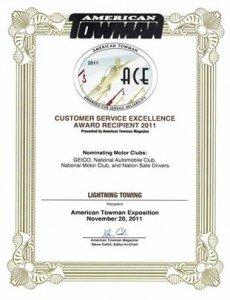 ACE certificate