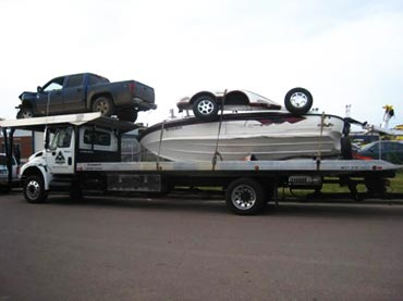 salvage vehicle transport